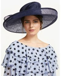 b2bf5e59e3497 John Lewis and Partners · Peter Bettley - Sandra Bow Detail Side Up Disc Occasion  Hat - Lyst