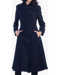 Jolie Moi - Asymmetric Flare Coat - Lyst