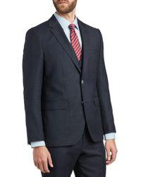 dcde4707b BOSS - Hugo By Jeffery/simmons Virgin Wool Regular Fit Suit Jacket - Lyst