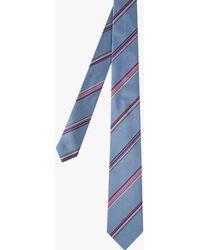 Paul Smith - Stripe Silk Tie - Lyst
