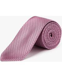 CALVIN KLEIN 205W39NYC - Grid Silk Tie - Lyst