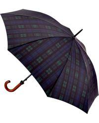 Fulton - Huntsman-2 Blackwatch Walking Umbrella - Lyst