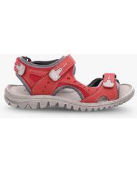 c3ea8ab8930 Josef Seibel Tonga 25 Triple Strap Sandals in Metallic - Lyst
