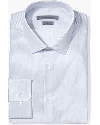 John Varvatos - Slim Fit Dobby Stripe Dress Shirt - Lyst