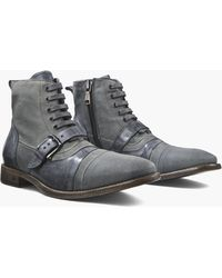John Varvatos - Fleetwood Buckle Cricket Boot - Lyst