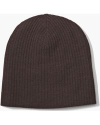 John Varvatos - Double Layer Beanie - Lyst