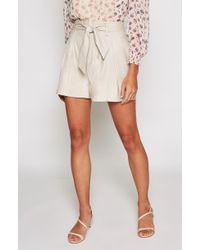 Joie - Kaylei High-waist Belted Shorts - Lyst