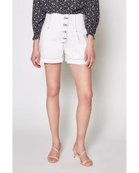 Joie - Tylar High-waist Button Fly Shorts - Lyst