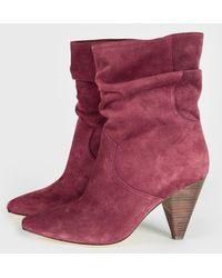 Joie - Gabbissy Sl Mid Calf Boot, - Lyst