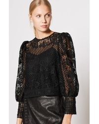 Joie - Rodia Lace Top - Lyst