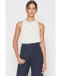 Joie - Rayce Lace Top - Lyst