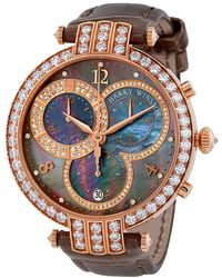 Harry Winston - Premier Mens Chronograph Watch - Lyst