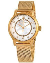 Maserati Epoca Diamond Ladies Watch - Metallic