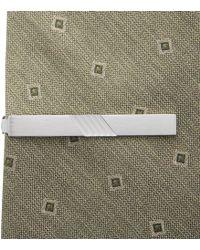 Jos. A. Bank - Matte & Polished Tie Bar - Lyst