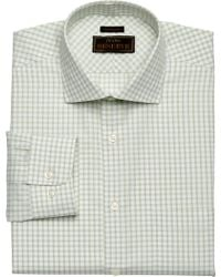Jos. A. Bank - Eserve Collection Traditional Fit Cutaway Collar Check Dress Shirt - Big & Tall - Lyst