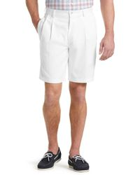 Jos. A. Bank - Traveler Collection Traditional Fit Pleated Shorts By - Lyst