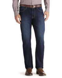 Jos. A. Bank - Joseph Abboud Traditional Fit Dark Wash Jeans - Lyst