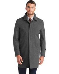 Jos. A. Bank - Executive Collection Traditional Fit 3/4 Length Topcoat - Lyst