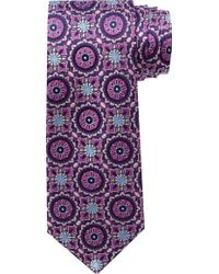 Jos. A. Bank - Signature Gold Collection Circles & Squares Tie - Lyst