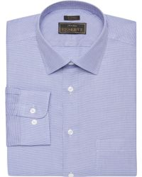 Jos. A. Bank - Eserve Collection Traditional Fit Spread Collar Textured Dress Shirt - Big & Tall - Lyst