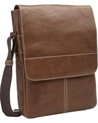 Jos. A. Bank - North-south Leather Bag - Lyst