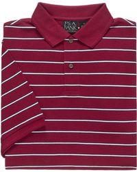 Jos. A. Bank - Traveler Short Sleeve Stripe Polo Clearance - Lyst