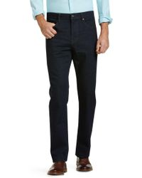 Jos. A. Bank - 1905 Collection Tailored Fit Dark Wash Jeans - Lyst