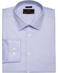Jos. A. Bank - Reserve Collection Tailored Fit Spread Collar Textured Dress Shirt - Lyst