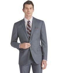 Jos. A. Bank - Traveler Slim Fit Sharkskin Suit Separate Jacket - Big & Tall - Lyst