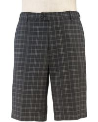 Jos. A. Bank - David Leadbetter Tailored Fit Flat Front Grid Shorts Clearance By - Lyst
