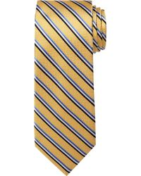 Jos. A. Bank - Traveler Collection Textured Stripe Tie - Long - Lyst