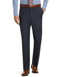 Jos. A. Bank - Classic Collection Suit Separate Slim Fit Plain Front Trousers Clearance - Lyst