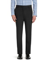 Jos. A. Bank - Traveler Performance Tailored Fit Flat Front Pants - Lyst
