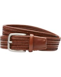 Jos. A. Bank - Braided Leather Belt - Lyst