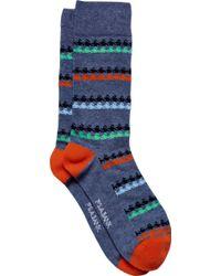 Jos. A. Bank - Patterned Stripe Socks, One-pair - Lyst