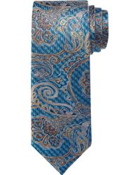 Jos. A. Bank - Signature Gold Collection Gingham Paisley Tie - Lyst
