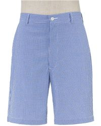 Jos. A. Bank - Stays Cool Cotton Plain Front Seersucker Shorts Big And Tall Clearance - Lyst