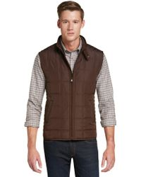 Jos. A. Bank | Traditional Fit Monroe Quilted Vest | Lyst