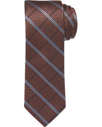 Jos. A. Bank - Reserve Collection Windowpane Plaid Tie Clearance - Lyst