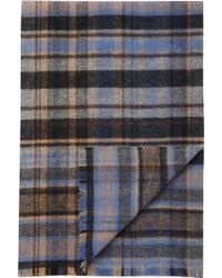 Jos. A. Bank - Jos. A Bank Plaid Wool Scarf Clearance - Lyst