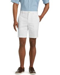 Jos. A. Bank - Traveler Collection Tailored Fit Twill Shorts - Lyst