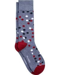 Jos. A. Bank - Dotted Mid-calf Socks - Lyst
