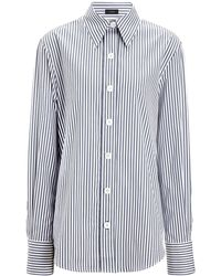 JOSEPH - Cotton Candy Stripe New Garcon Shirt - Lyst
