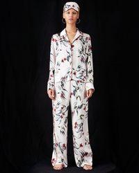 Violet & Wren - Trailing Guava Pyjama Trouser - Lyst