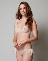 Only Hearts - Coucou Lola Tie Bikini - Lyst