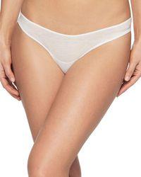 Skin - Organic Pima Cotton Bikini - Lyst