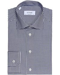 Eton of Sweden - Contemporary Fit Houndstooth Shirt - Lyst