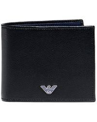 Armani - Tumbled Leather Wallet - Lyst