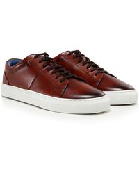 Oliver Sweeney - Leather Laine Trainers - Lyst