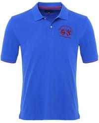 La Martina - Plain Polo Shirt - Lyst